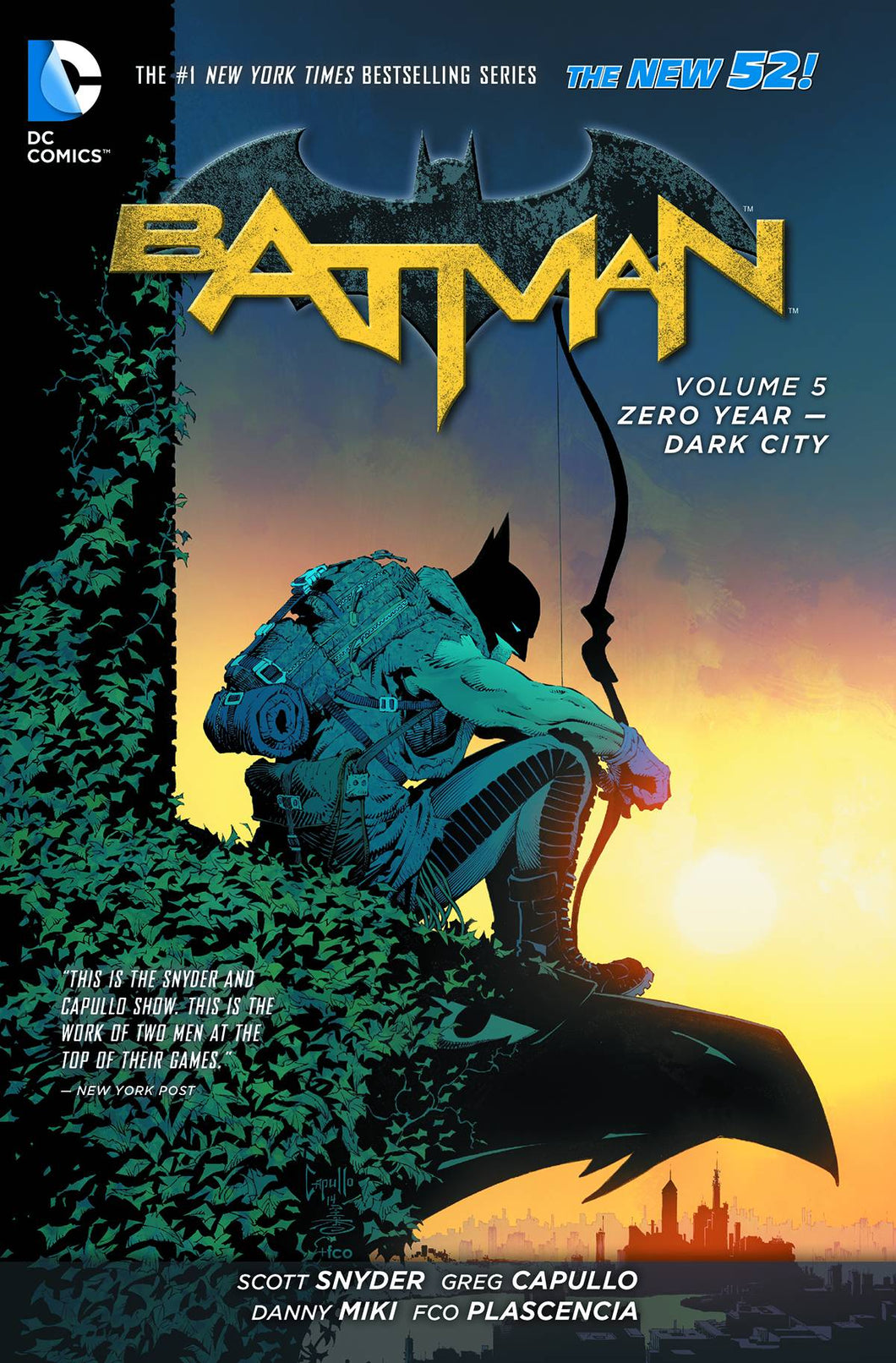Batman Tp Vol 05 Zero Year Dark City (New 52)