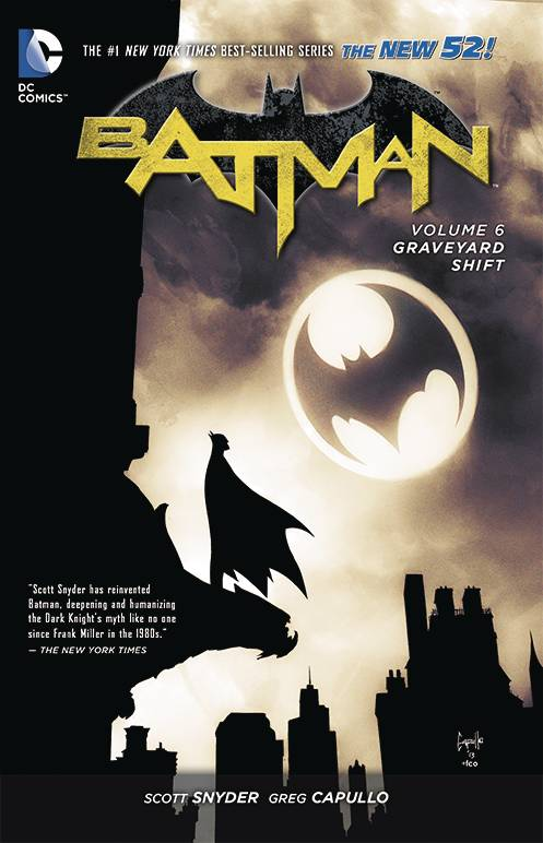 Batman Tp Vol 06 Graveyard Shift (New 52)