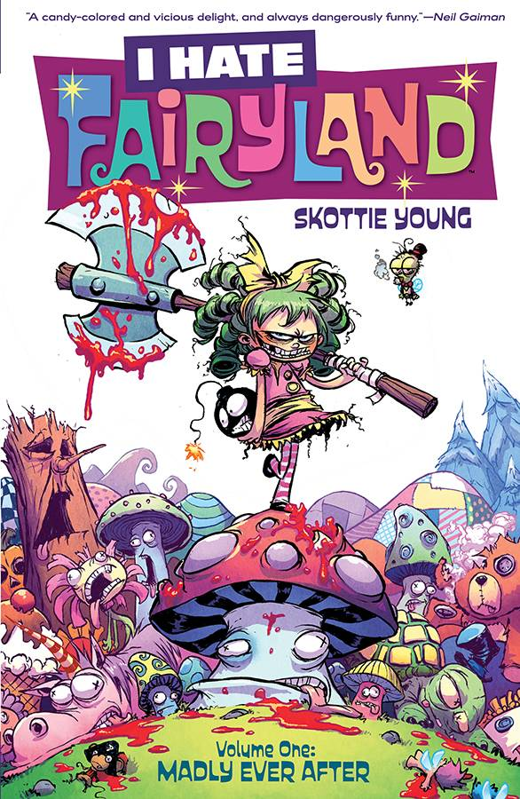 I Hate Fairyland Tp Vol 01 Madly Ever After
