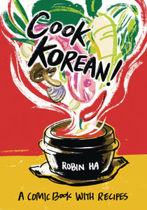 Cook Korean Comic Book With Recipes SC New Printing - Books