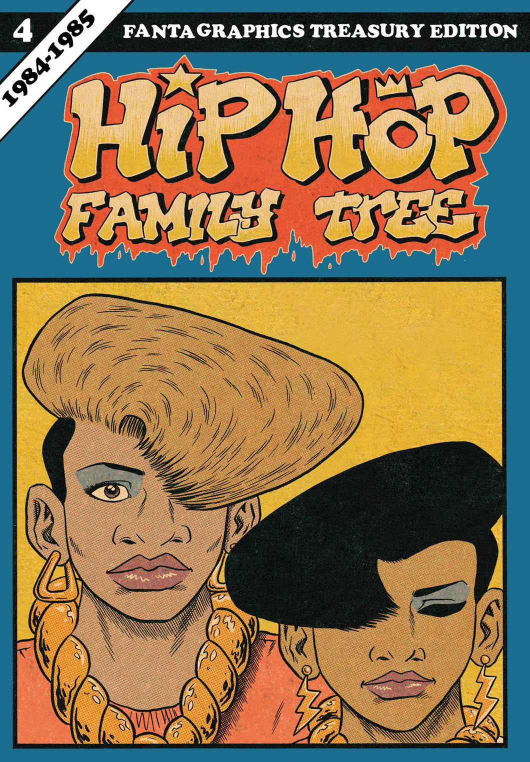 Hip Hop Family Tree Gn Vol 04 1984-1985