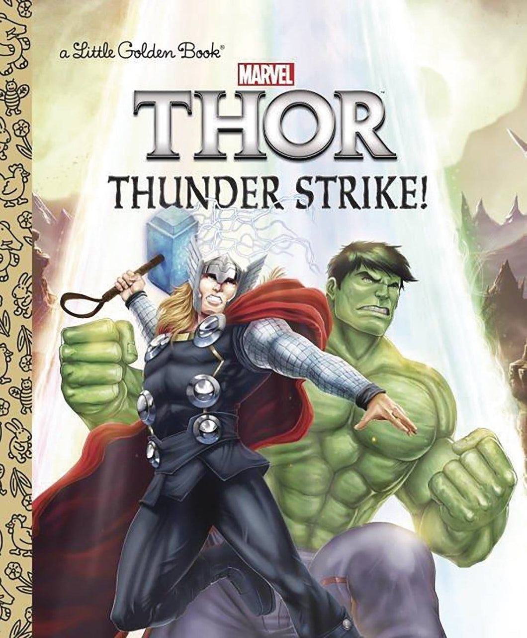 Mighty Thor Little Golden Book Thunder Strike