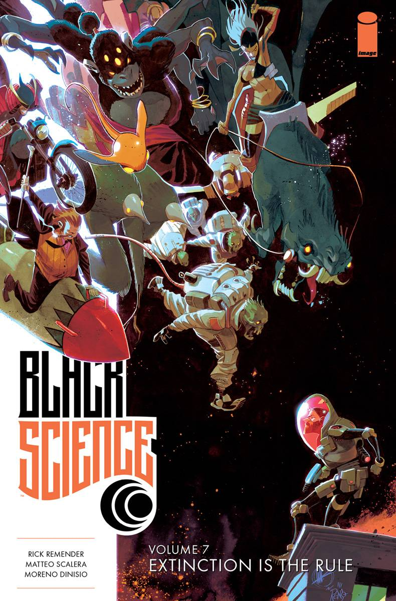 Black Science Tp Vol 07 Extinction Is The Rule