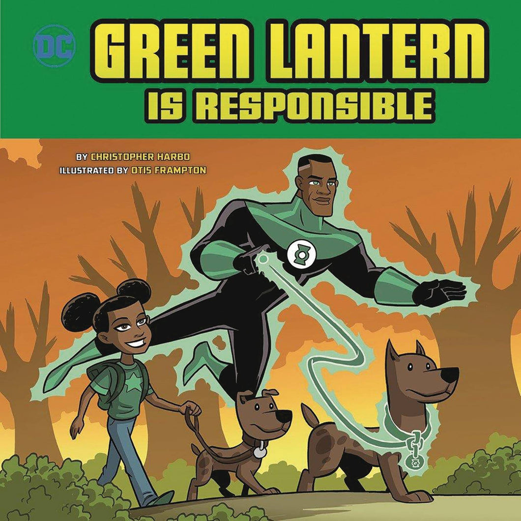 Green Lantern Is Responsible Yr Picture Book