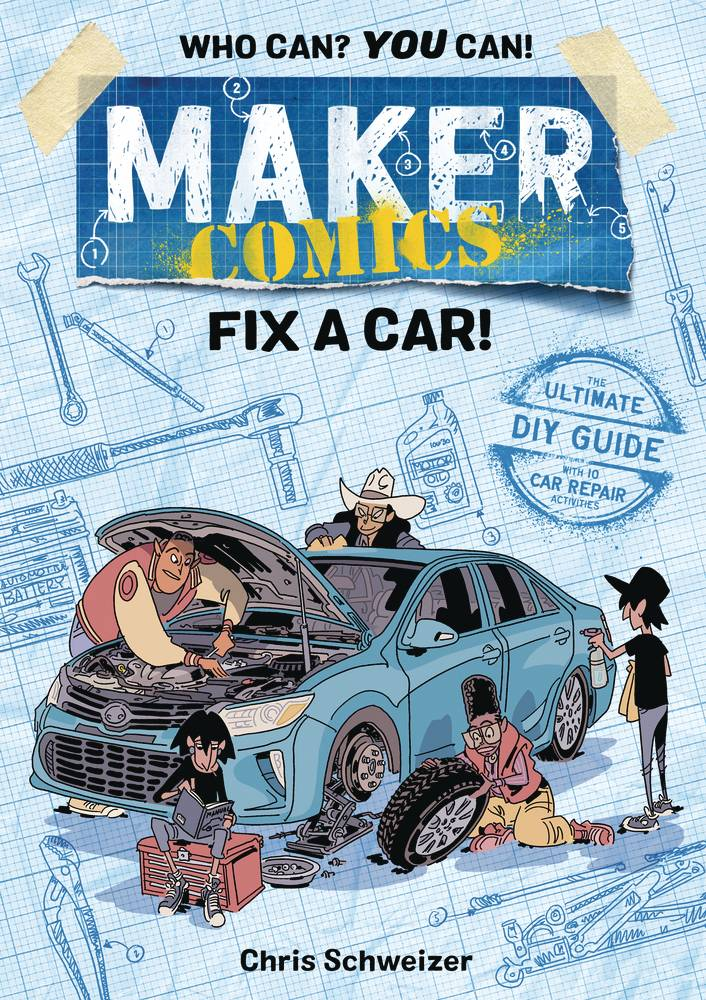Maker Comics Gn Fix A Car