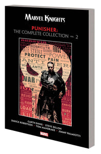 Marvel Knights Punisher By Ennis Complete Coll Tp Vol