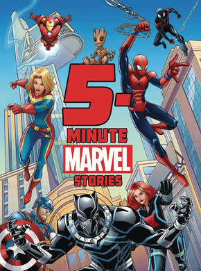 5 Minute Marvel Stories Hc