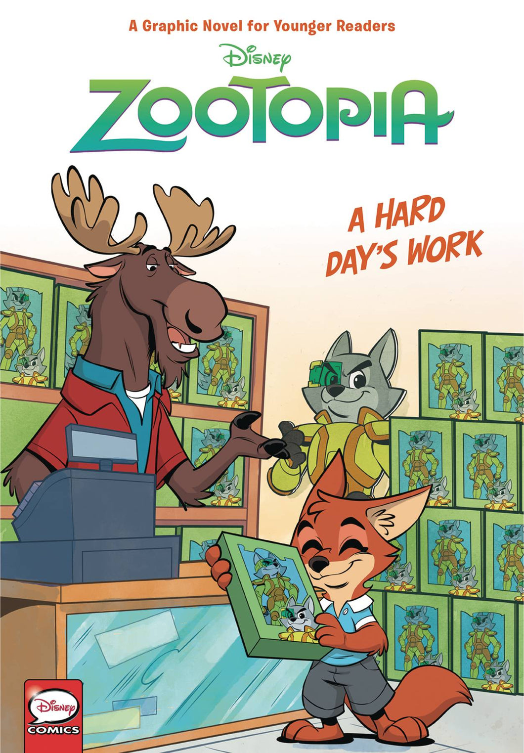 Disney Zootopia Hc Hard Days Work
