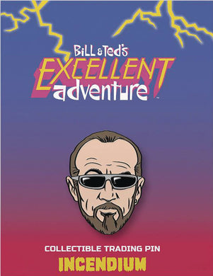 Bill And Teds Excellent Adventure Rufus Lapel Pin
