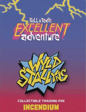 Bill And Teds Excellent Adventure Wyld Stallyns Lapel Pin