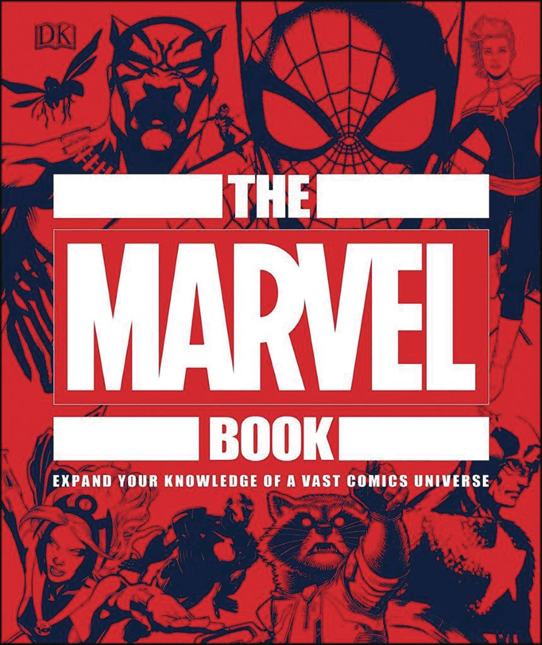 Marvel Book Expand Your Knowledge Hc