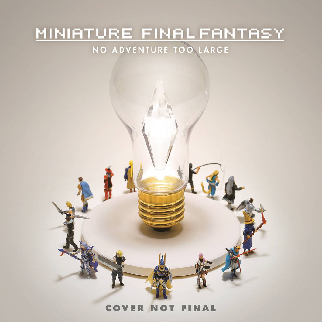 Miniature Final Fantasy No Adventure Too Large Hc