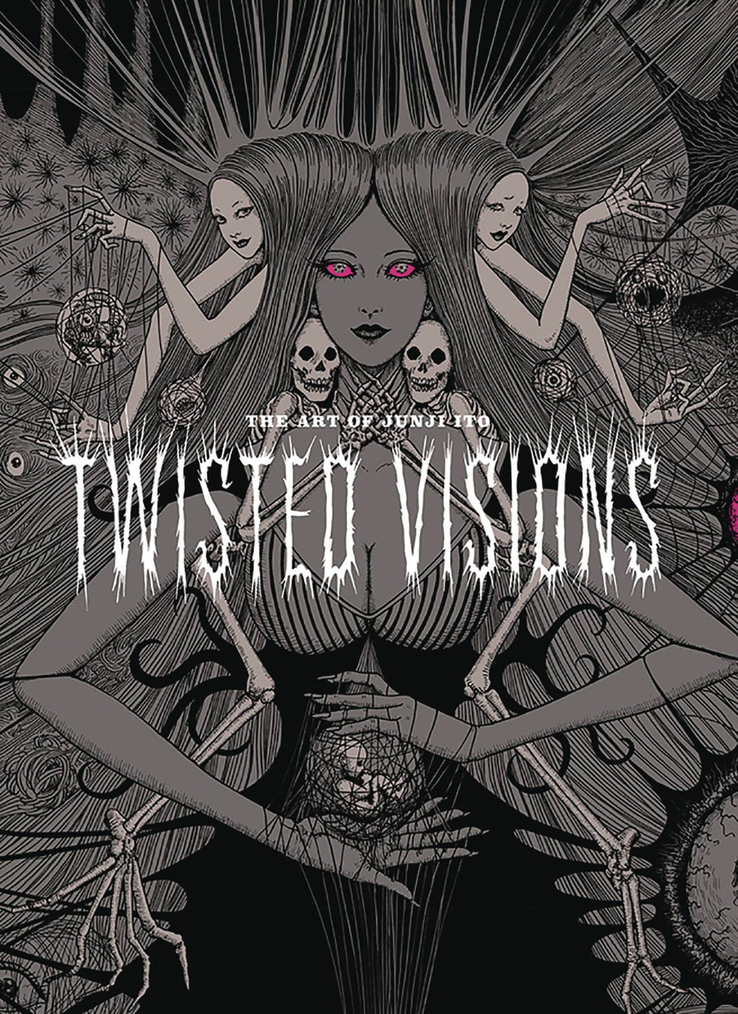Art Of Junji Ito Twisted Visions Hc