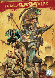 Kevin Eastman Totally Twisted Tales Tp Vol 01 Cvr B Bisley