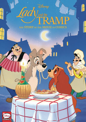 Disney Lady & The Tramp Story Movie In Comics Hc