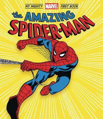 Amazing Spider-Man My Mighty Marvel First Book Board Book