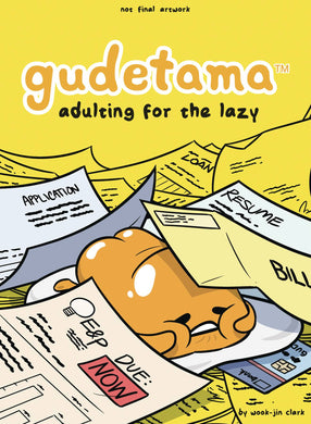 Gudetama HC Adulting For The Lazy - Books