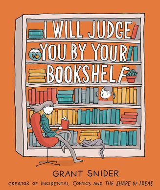I Will Judge You By Your Bookshelf GN - Books
