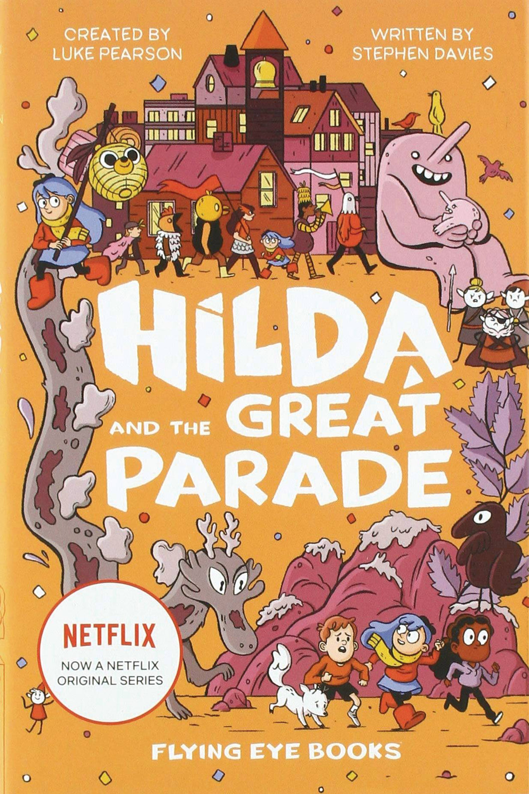 Hilda & Great Parade Movie Tie In Sc Novel