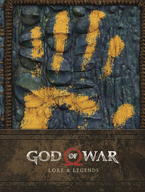 God of War Lore & Legends HC - Books