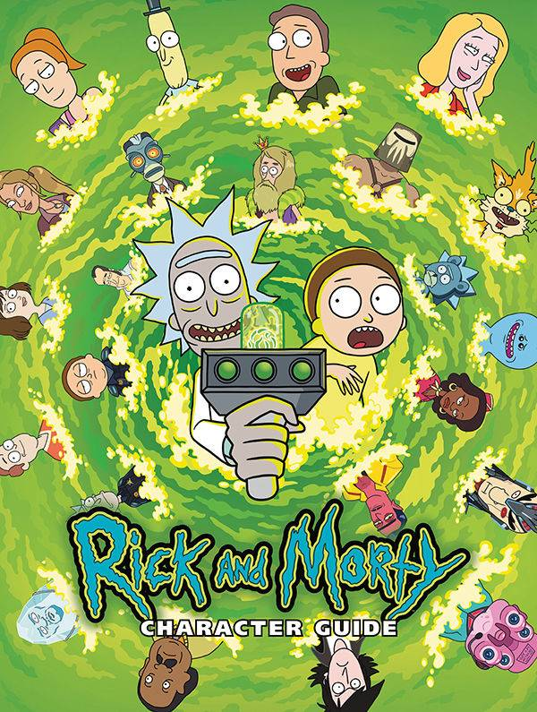 Rick & Morty Character Guide HC - Books
