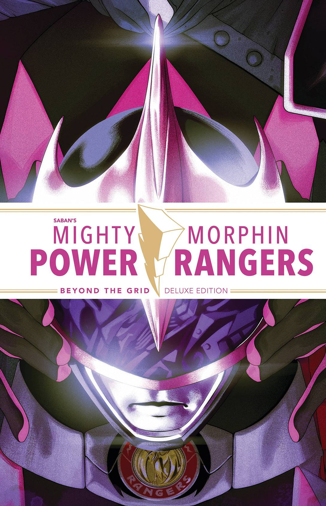 Mighty Morphin Power Rangers Beyond The Grid Dlx Ed HC - Books