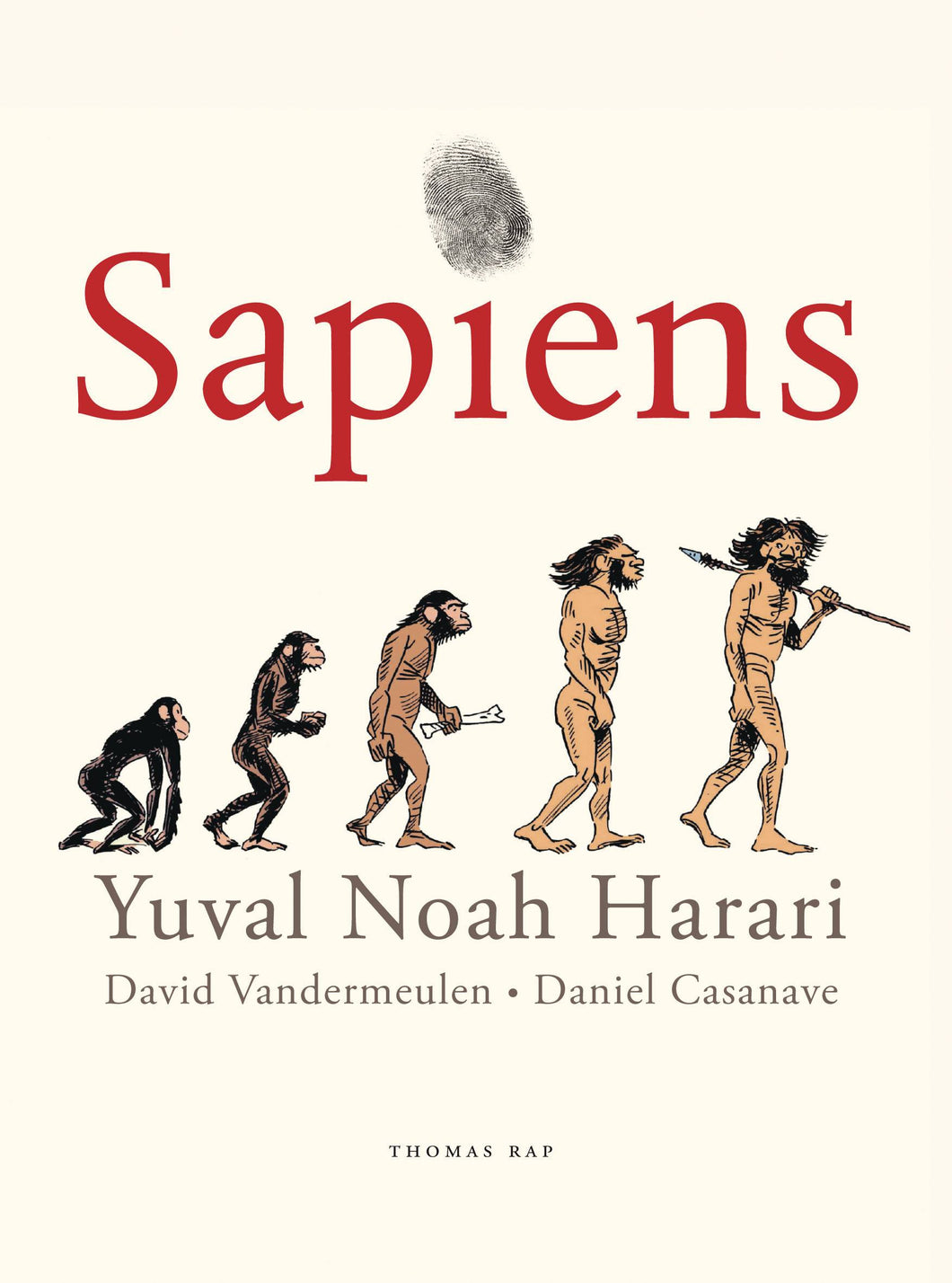 Sapiens GN Vol 01 Birth of Humankind - Books