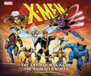X-Men Art & Making of Animated Series HC - Books