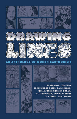 Drawing Lines Women Cartoonist Anthology HC - Books