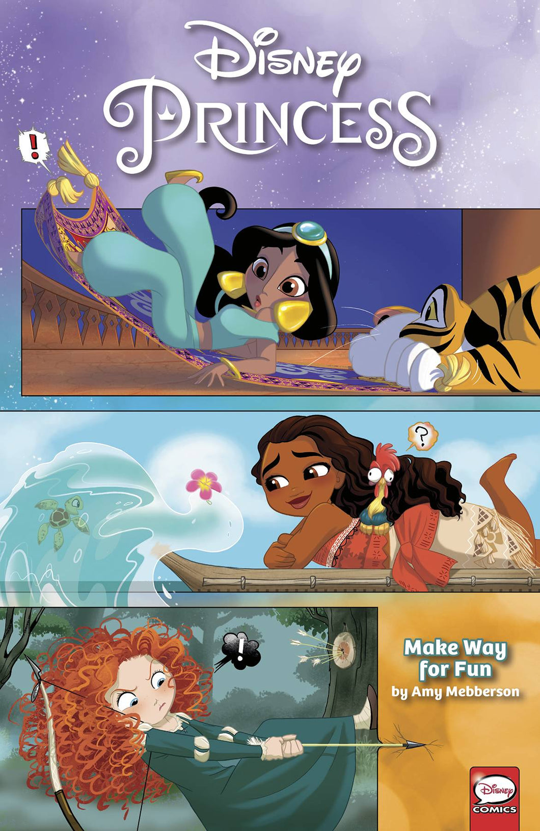 Disney Princess Make Way For Fun TP - Books