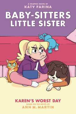 Baby Sitters Little Sister GN Vol 03 Karens Worst Day - Books
