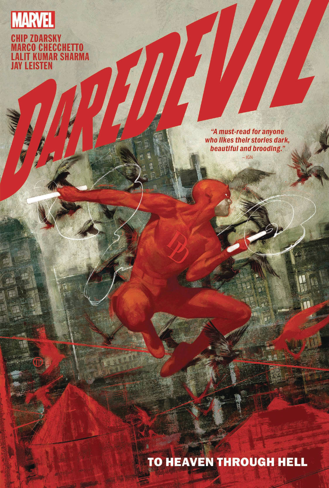 Daredevil By Chip Zdarsky HC Vol 01 to Heaven Through - Books