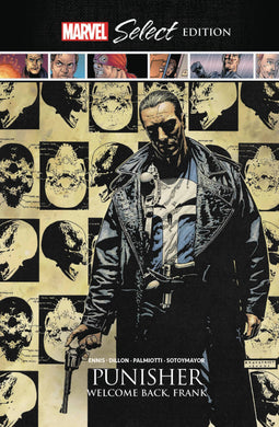 Punisher Welcome Back Frank Marvel Select HC - Books