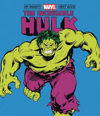 Incredible Hulk My Mighty Marvel First Book Board Book - Books