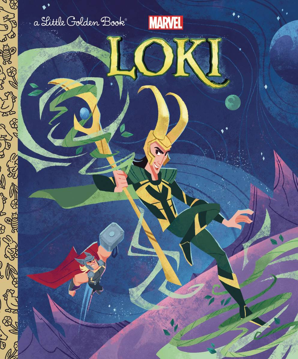 Loki Little Golden Book - Books