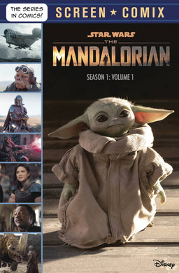 Star Wars Mandalorian Screen Comix TP Vol 01 Season 1 - Books