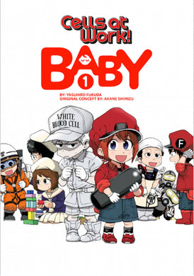 Cells At Work Baby GN Vol 01 - Books