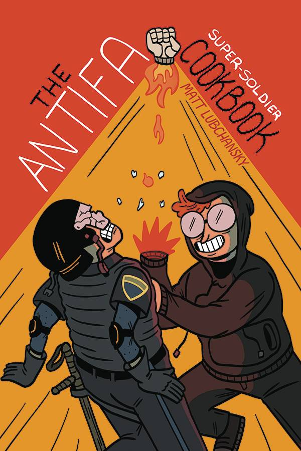 Antifa Super Soldier Cookbook One Shot - Books