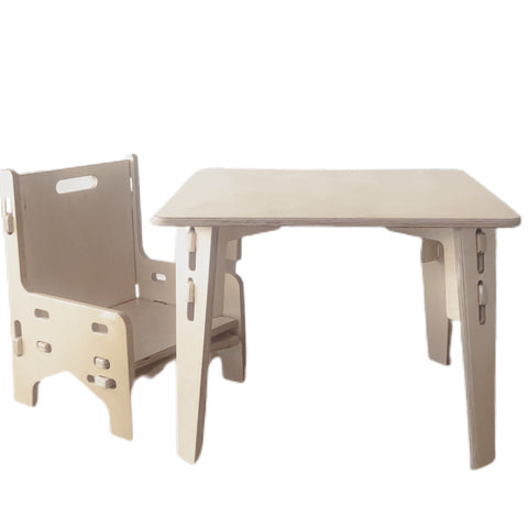 Weaning Table and Chair Set