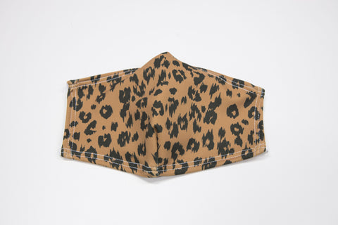 Leopard - Double Layer Face Masks