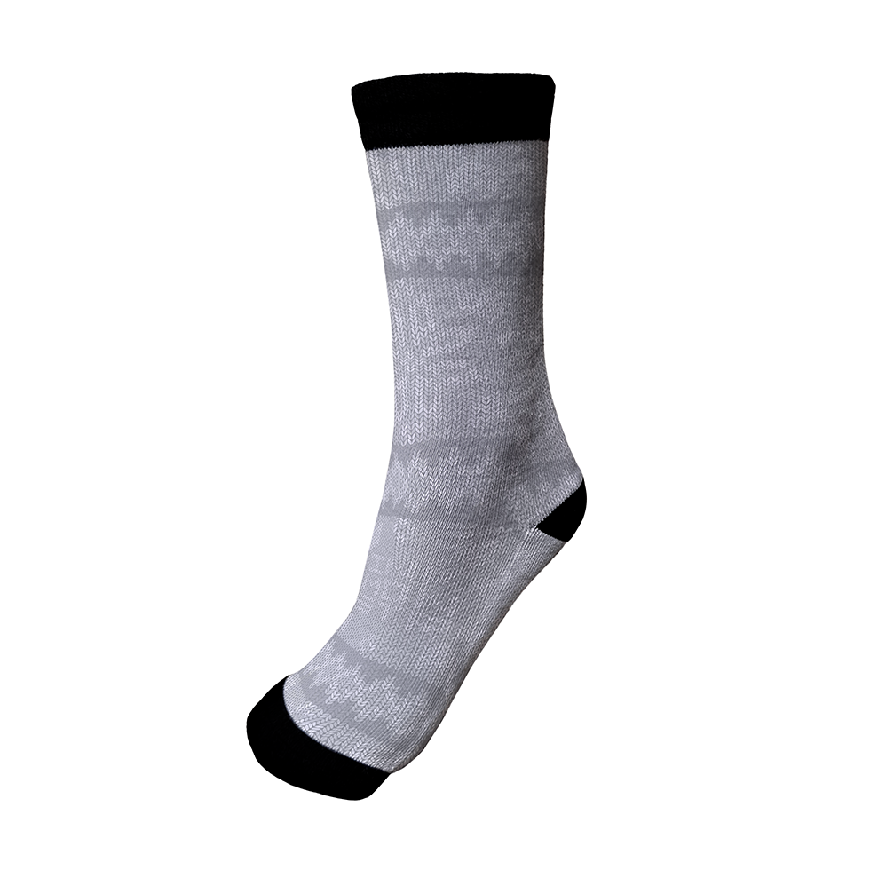 Gray Knit - Socks