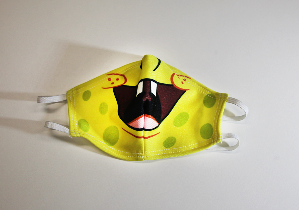 Yellow Monstr - Mask