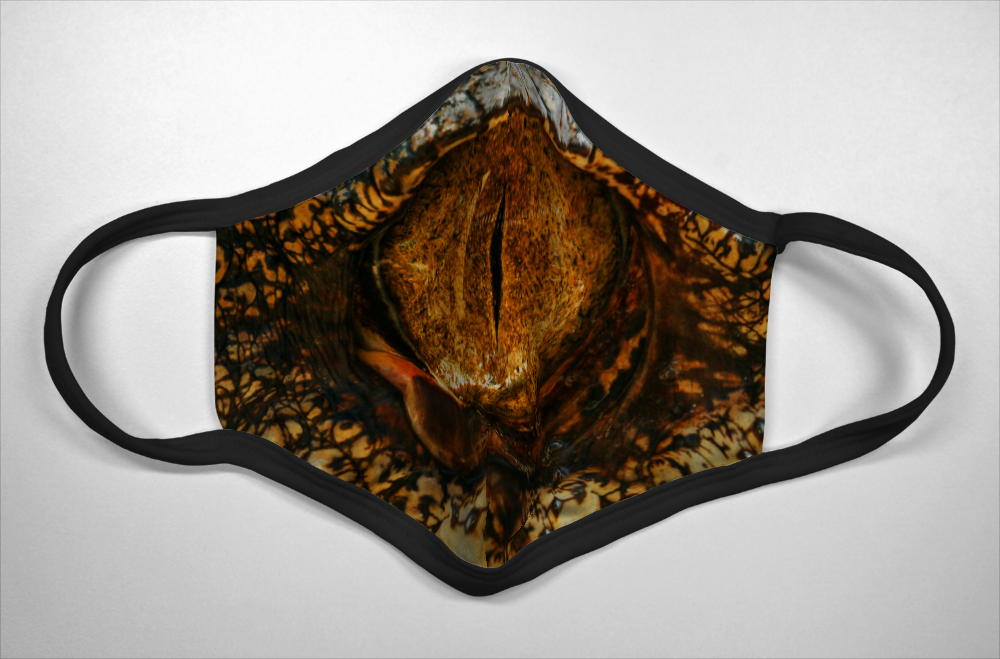 Reptile Eye - Mask