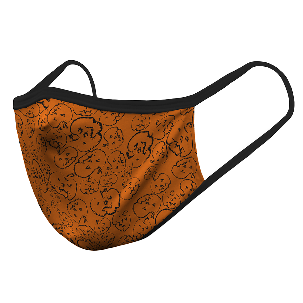Pumpkin Pattern - Mask