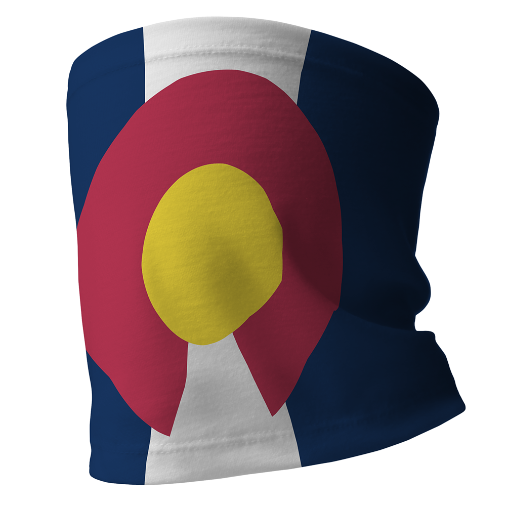 Colorado Flag - 1/2 Buff