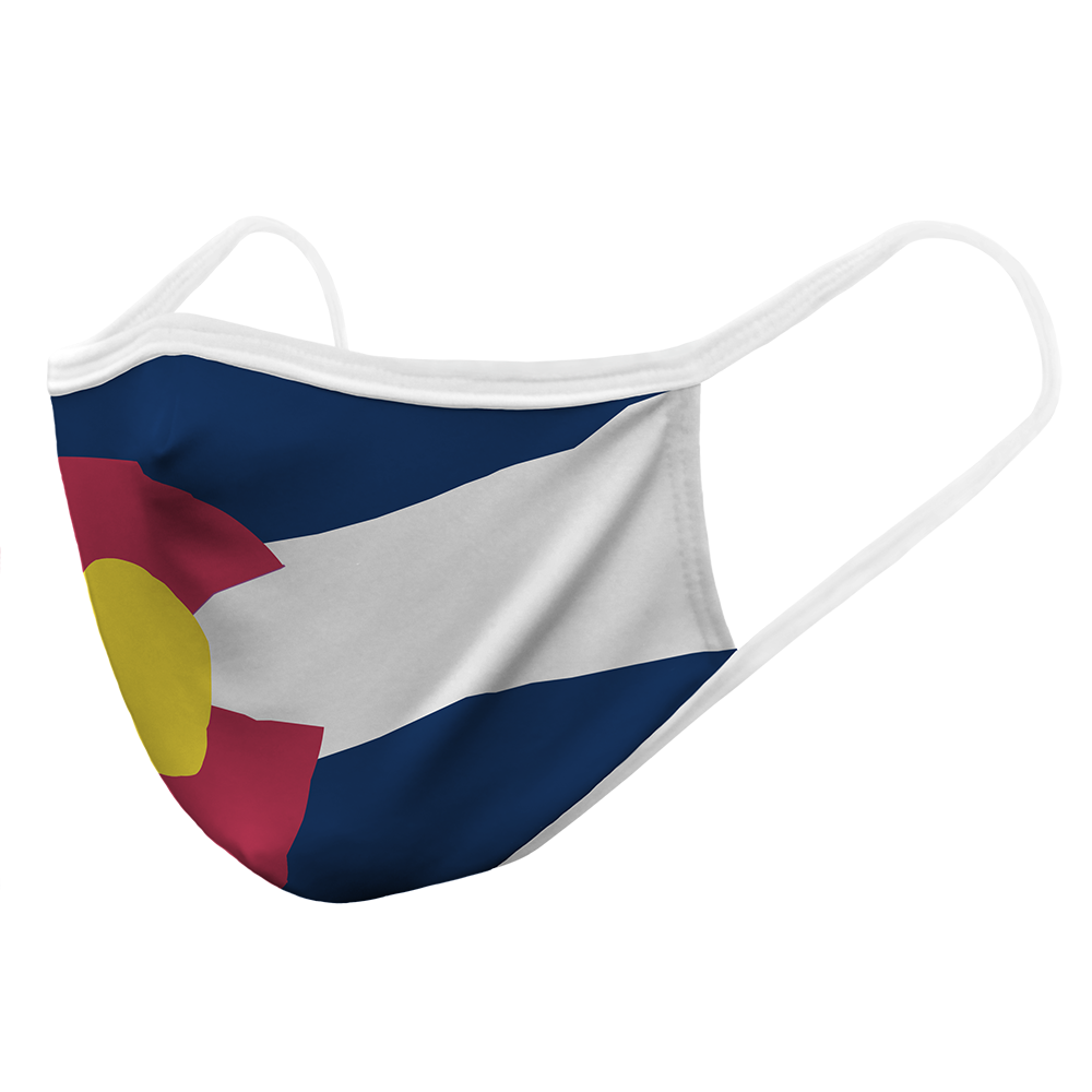 Colorado Flag - Adult Mask