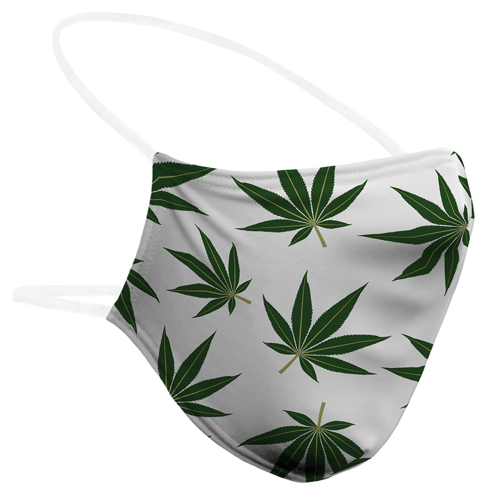 Weed Leaves - Mask