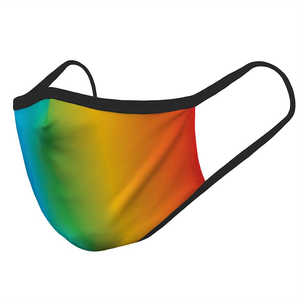 Rainbow Ribbon - Mask