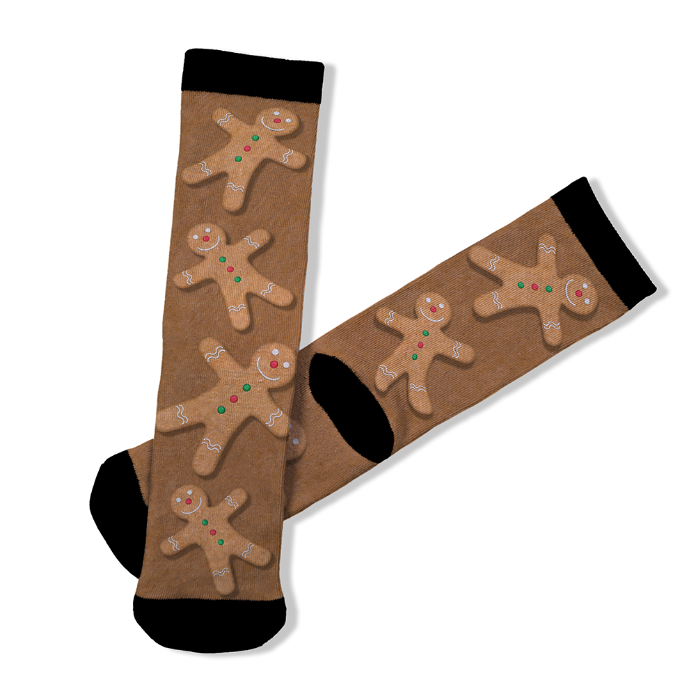 Gingerbread Man - BTH Mask+Socks Gift Pack