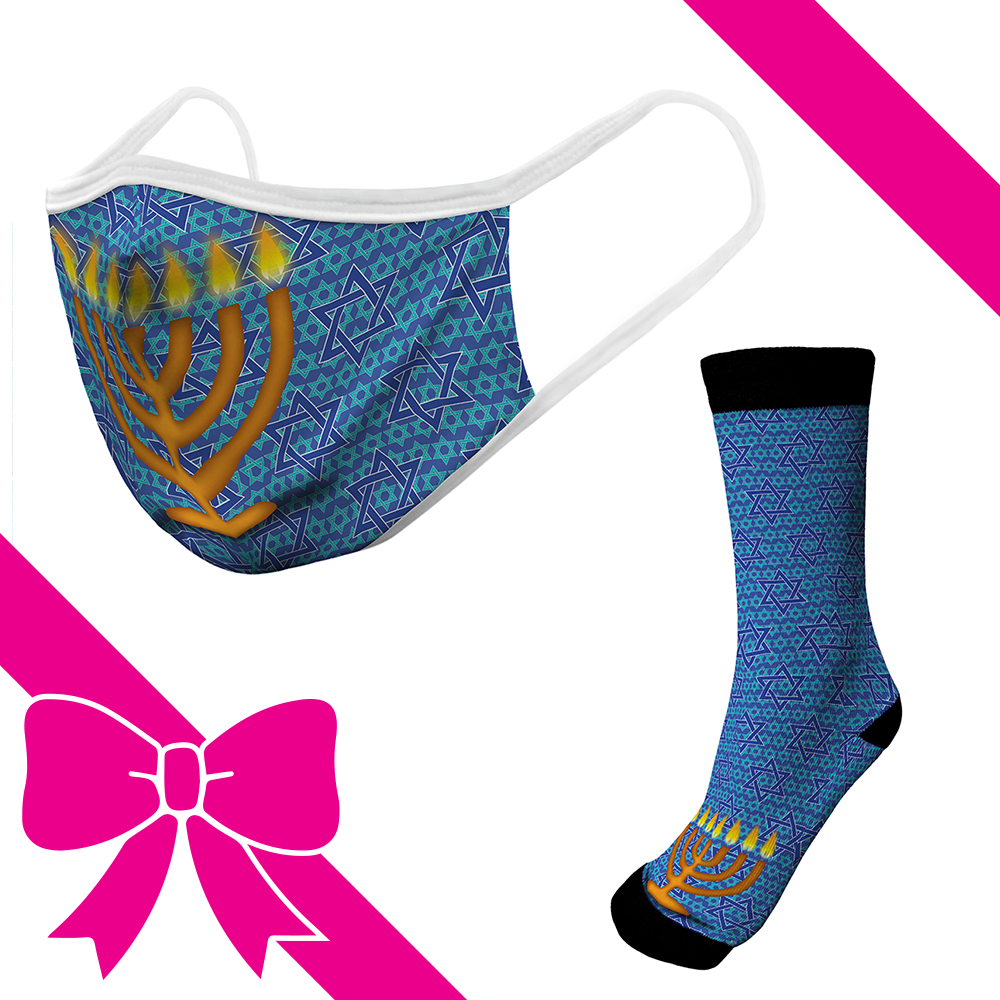 Star Of David - OTE Mask+Socks Gift Pack